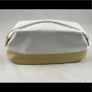White Elizabeth Arden Make up pouch bag